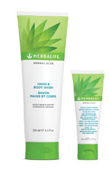 Aloe hand en body wash